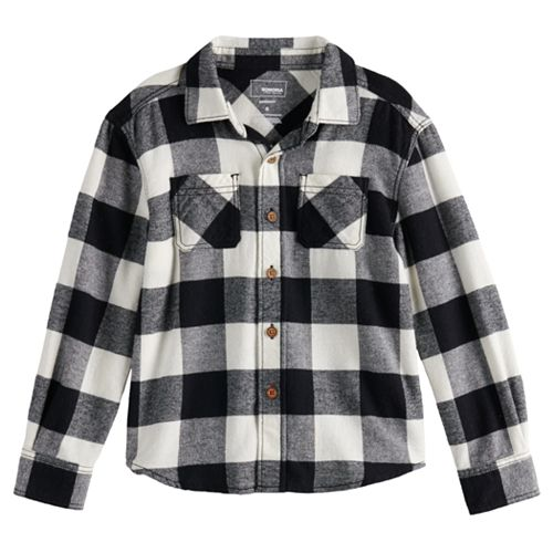 Boys 4-12 SONOMA Goods for Life™ Flannel Shirt