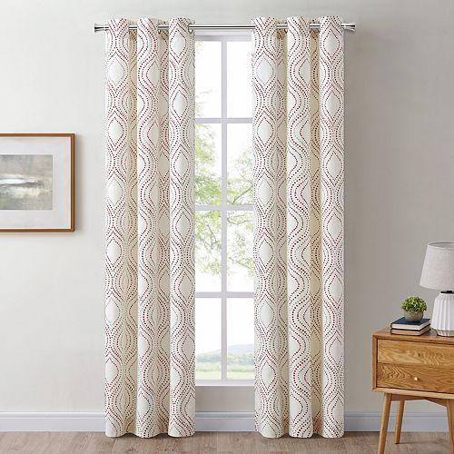 The Big One® 2-Pack Mindi Decorative Window Curtains