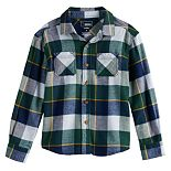Boys' 4-12 SONOMA Goods for Life? Plaid Flannel Shirt