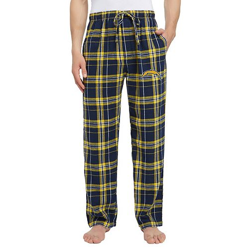 Men's Los Angeles Chargers Hillstone Flannel Pants