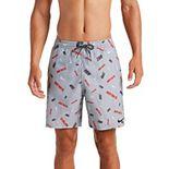 """Men's Nike Logofetti Breaker 7"""" Volley Swim Trunks"""