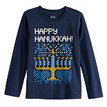 Boys 4-12 Jumping Beans® Happy Hanukkah Graphic Tee