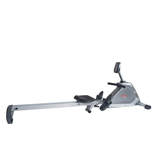Sunny Health & Fitness Magnetic Rowing Machine Rower w/High Weight Capacity