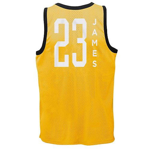 Boys 8-20 Los Angeles Lakers LeBron James Sublimated Tank