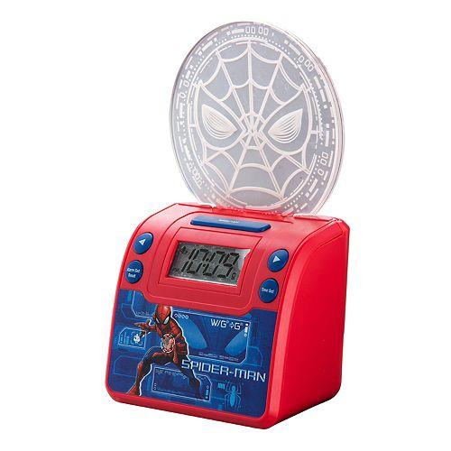 eKids Marvel Spiderman Light-Up Alarm Clock