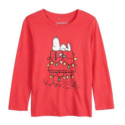 Baby Boy Jumping Beans® Snoopy Christmas Lights Long-Sleeve Tee