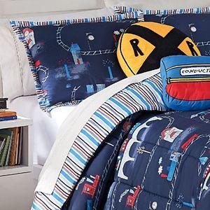 Waverly Kids All Aboard Reversible Comforter Set