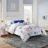 Waverly Spree Kitty City Reversible Comforter Set