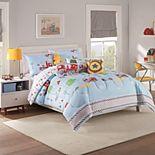 Waverly Kids Hero Squad Reversible Comforter Set