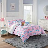 Waverly Spree Over The Rainbow Reversible Comforter Set
