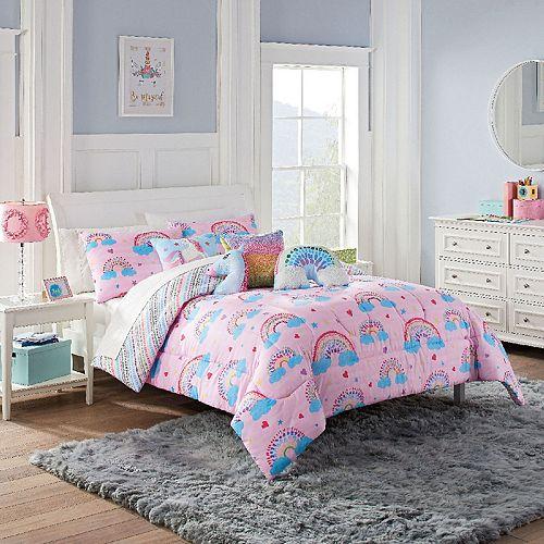 Waverly Spree Over The Rainbow Reversible Comforter Set