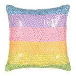 Waverly Spree Over The Rainbow Sequin Decorative Pillow