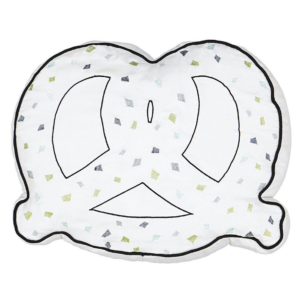 Waverly Spree Cityscape Pretzel Decorative Pillow
