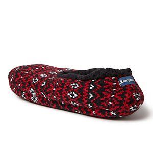 Men's Dearfoams Fairisle Toasty Slipper Socks