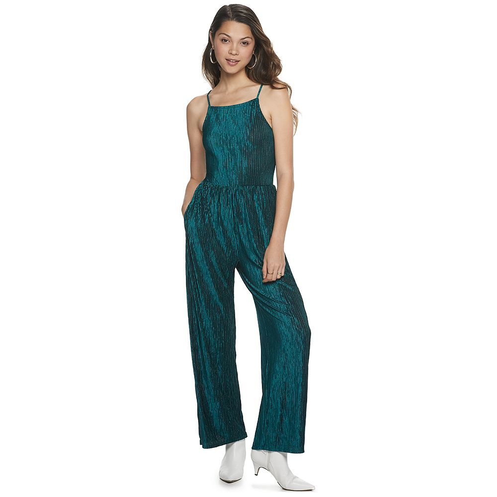 Juniors' Live To Be Spoiled Pull-On Bodre Jumpsuit