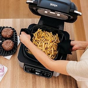Ninja Foodi 5-in-1 Indoor Grill with Air Fry, Roast, Bake & Dehydrate