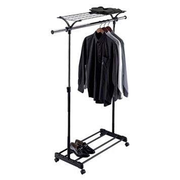 Neu Home Multipurpose Adjustable Garment Rack