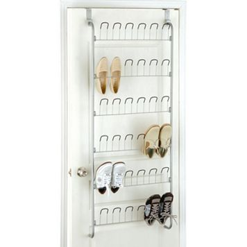 Neu Home Over-the-Door 18-Pair Shoe Organizer