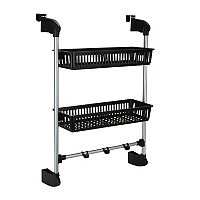 Neu Home 2-Tier Over-the-Door Basket