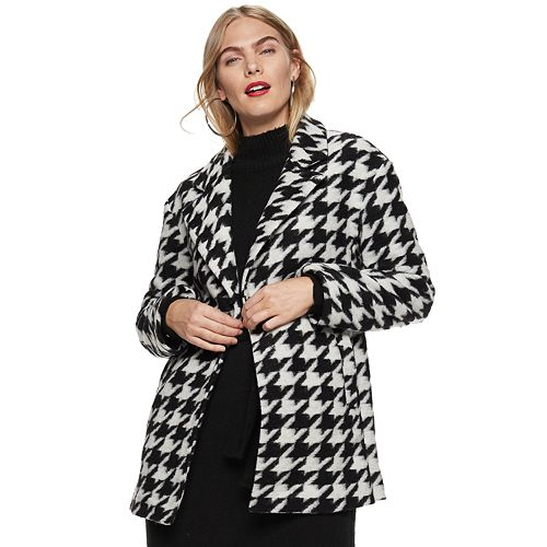 Women's Nine West Oversized Peacoat