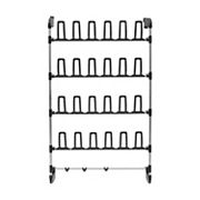 Neu Home Over-the-Door 12-Prong Shoe Rack