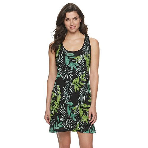 Women's Apt. 9® Floral Cover-Up Dress