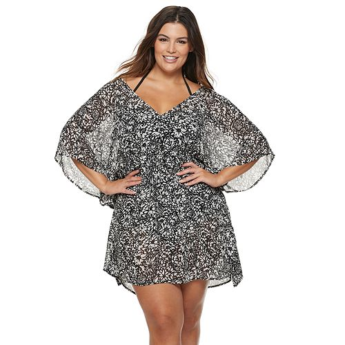 Plus Size Apt. 9® Floral Caftan Cover Up