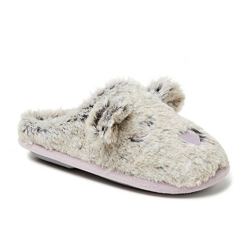 Dearfoams Furry 3D Critter Clog