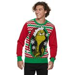 Men's Grinch Frame Ugly Christmas Sweater