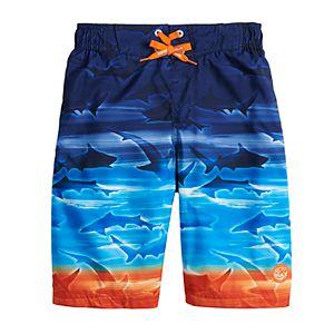 Boys 8-20 ZeroXposur Printed Swim Trunks