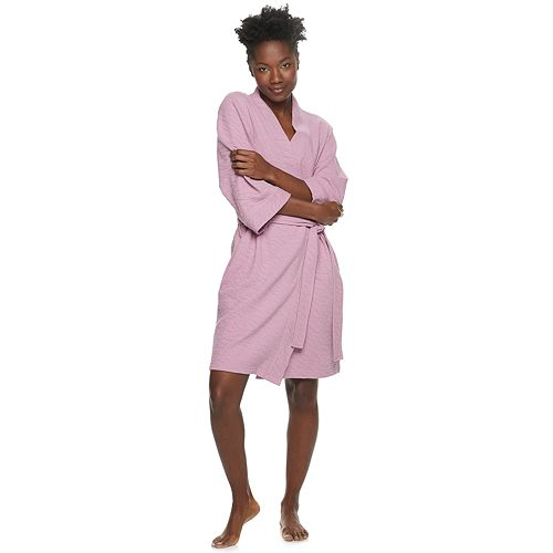 Women's SONOMA Goods for Life™ Pucker Knit Robe