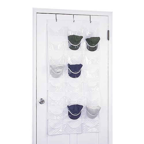 Neu Home Over-the-Door Hat Organizer