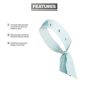 Women's adidas Alphaskin Tie Headband