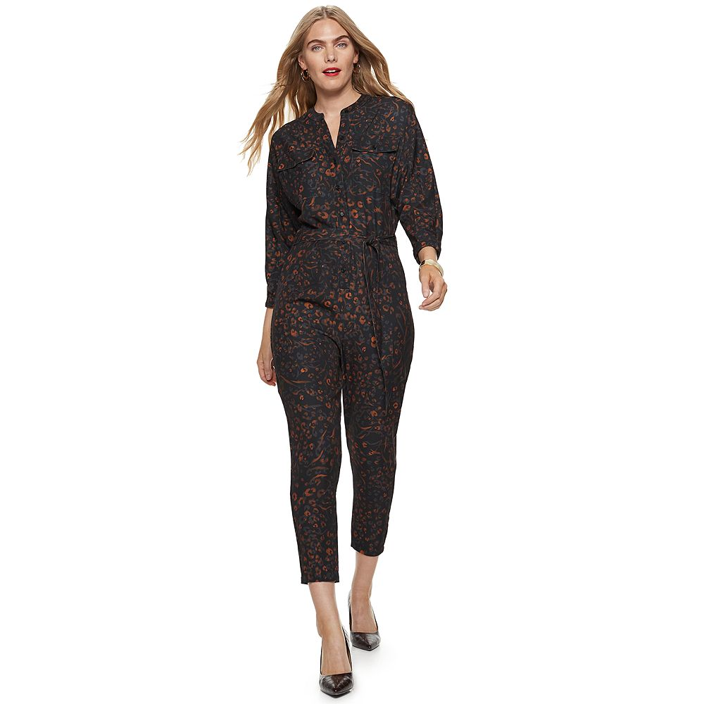 Women's Nine West Dolman-Sleeve Jumpsuit