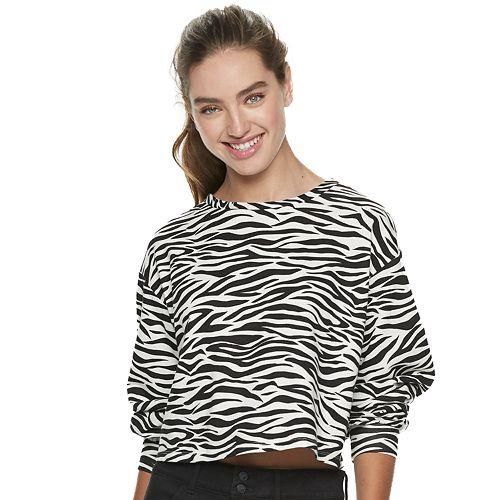 Juniors' Candie's® Balloon Sleeve Sweatshirt
