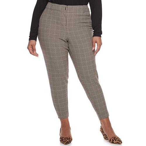 Plus Size Apt. 9® Torie Straight Leg Dress Pants