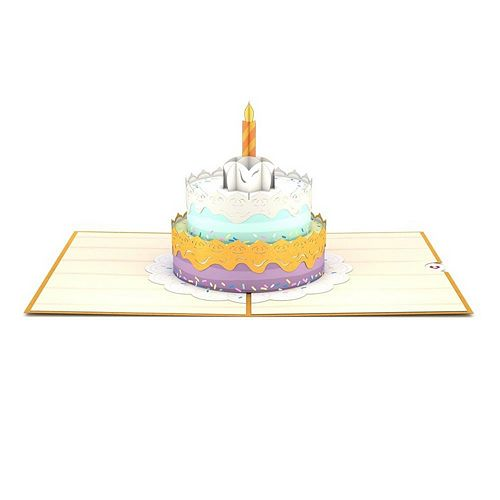 "Lovepop ""Happy Birthday Cake"" Greeting Card"