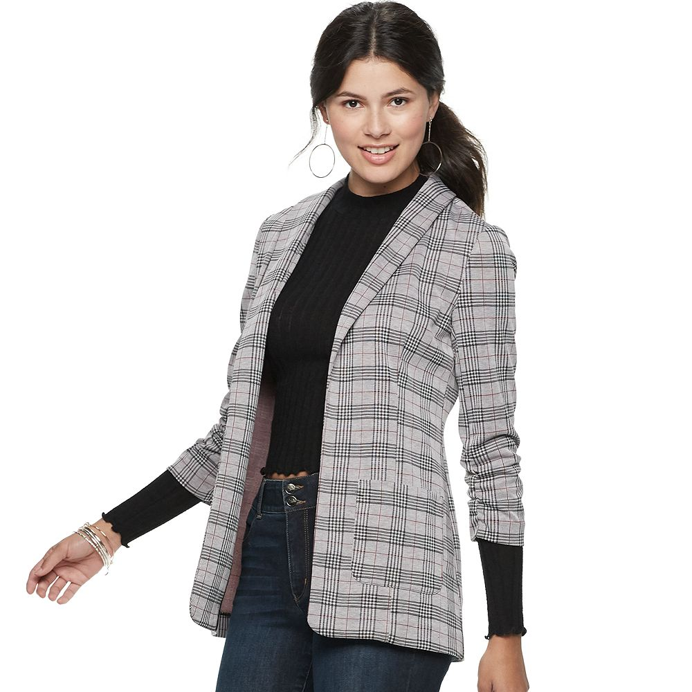 Juniors' Candie's® Oversized Relaxed Blazer