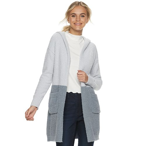 Juniors' Candies® Teddy Cardigan