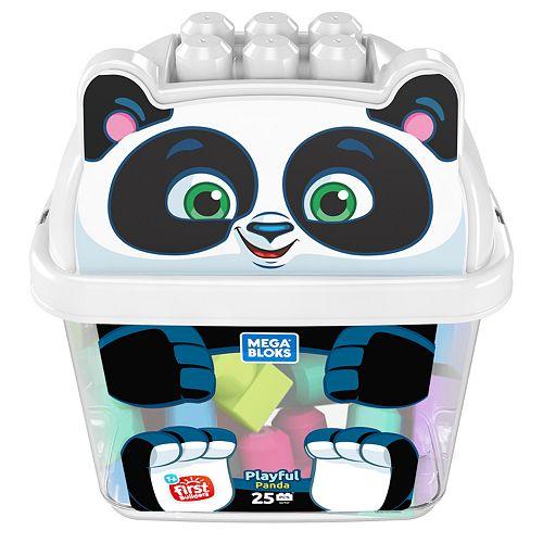 Mega Bloks Playful Panda Blocks & Container