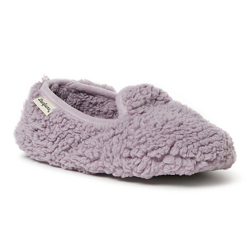 Women's Dearfoams Fluffy Sherpa Closed Back