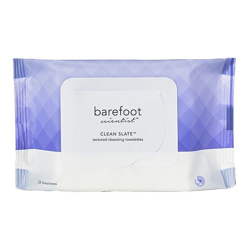 Barefoot Scientist Clean Slate™ Textured Cleansing Towelettes
