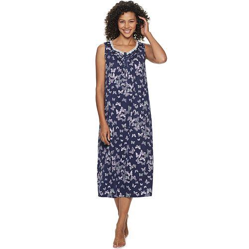 Petite Croft & Barrow® Printed Long Nightgown