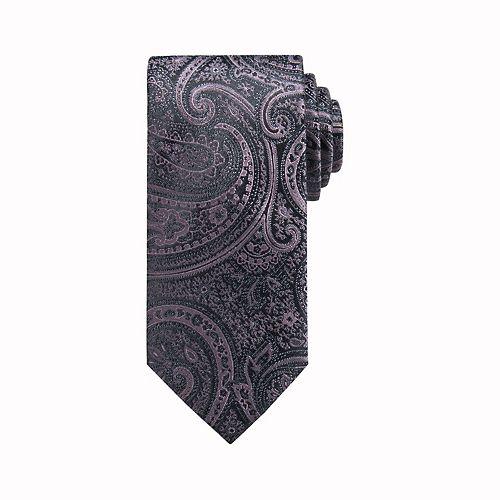 Men's Apt. 9® Rawlins Paisley Skinny Tie