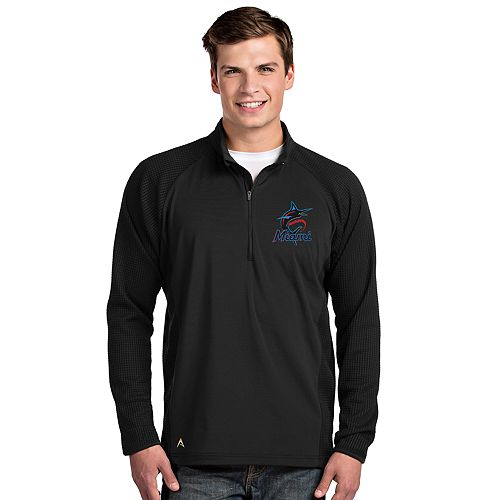 Men's Miami Marlins Sonar 1/4-Zip Pullover
