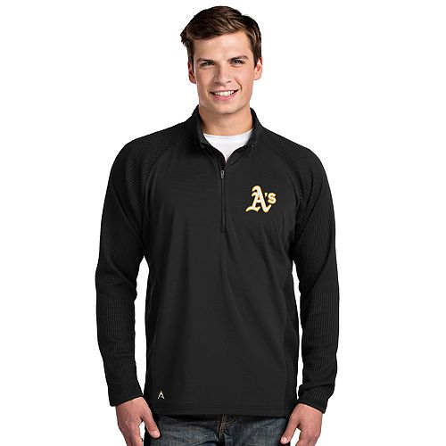 Men's Oakland Athletics Sonar Quarter-Zip Pullover