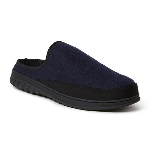 Men's Dearfoams Felted Microwool Clog