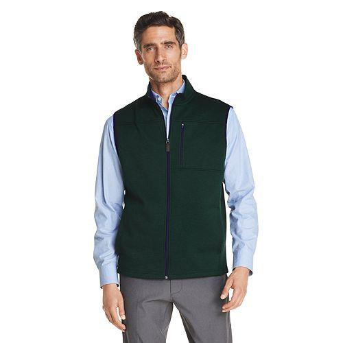 Men's IZOD Slim Premium Essentials Sweater Fleece Vest