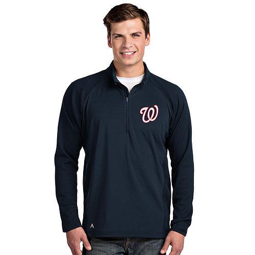 Men's Washington Nationals Sonar 1/4-Zip Pullover
