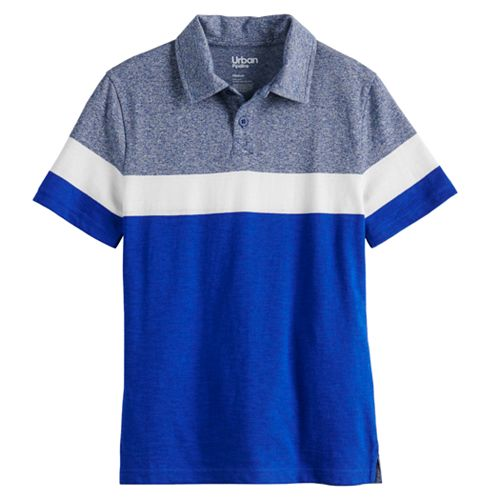Boys 8-20 & Husky Urban Pipeline Striped Polo
